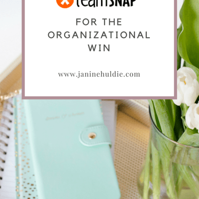 TeamSnap for the Organizational Win