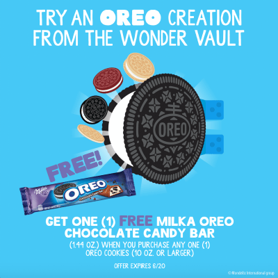 Updated OREO Wonder Vault Promo image