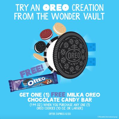 Updated OREO Wonder Vault Promo image