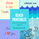 6 Beach Printables for DIY Summer Decor TSSBH