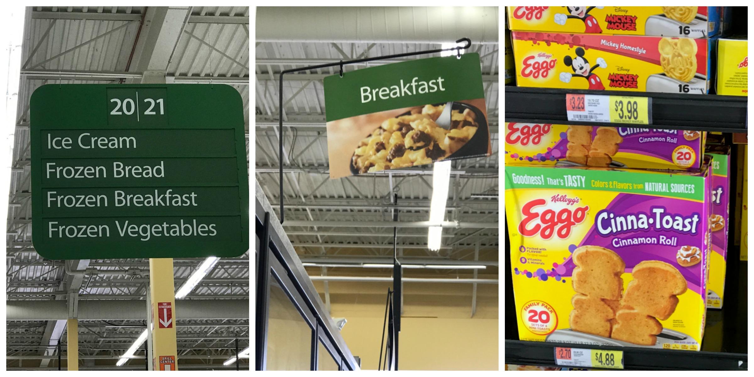 Eggo CinnaToast Product Collage for Walmart