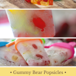 Make Summertime Fun with Gummy Bear Popsicles