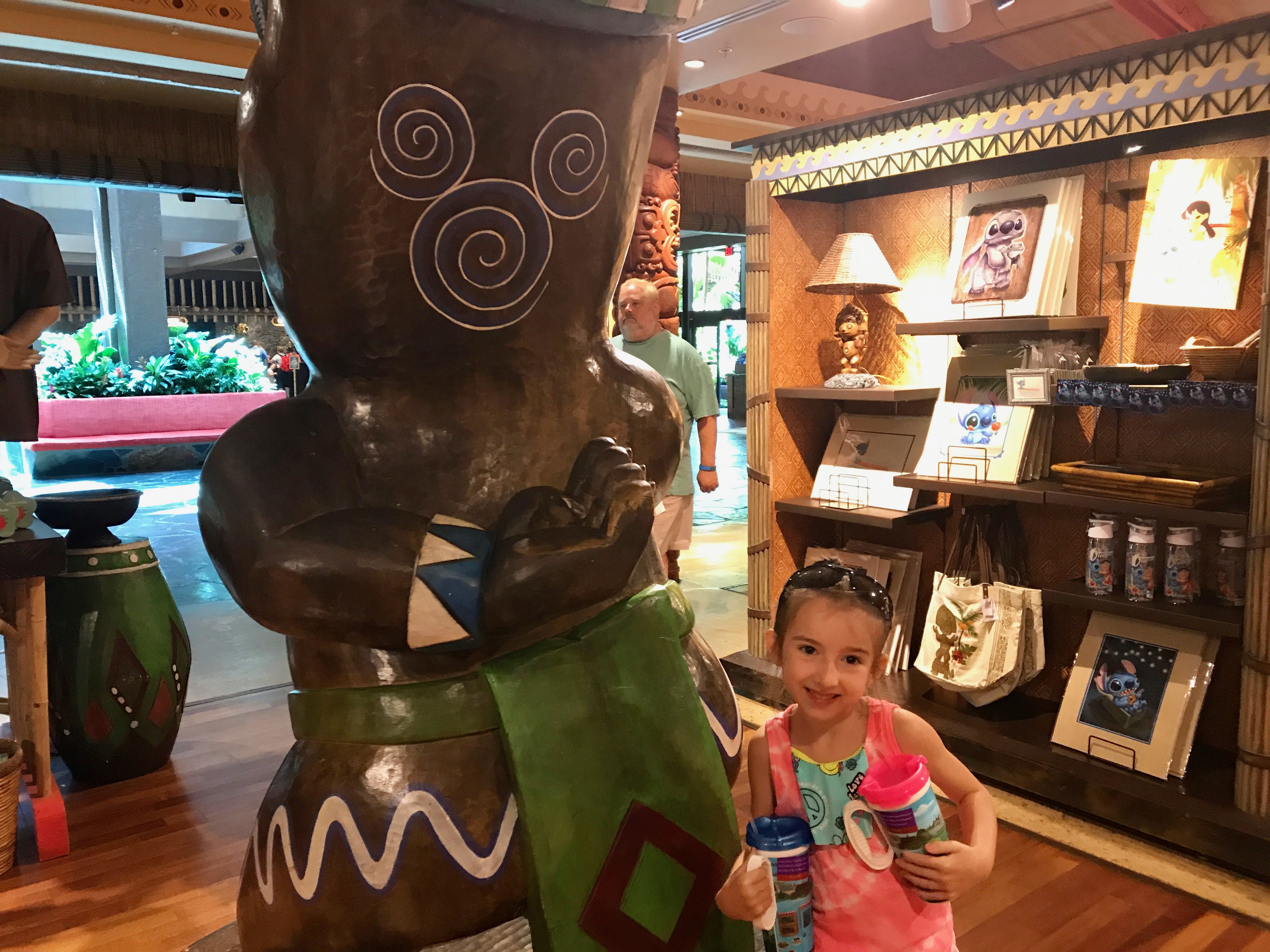Shopping at the Gift Shop in Disney Polynesian Resort