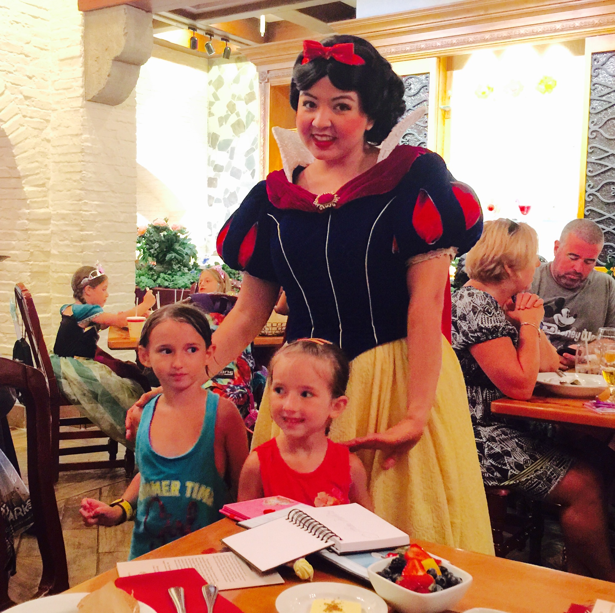 Snow White at Akershus Royal Banquet Hall in Summer 2015