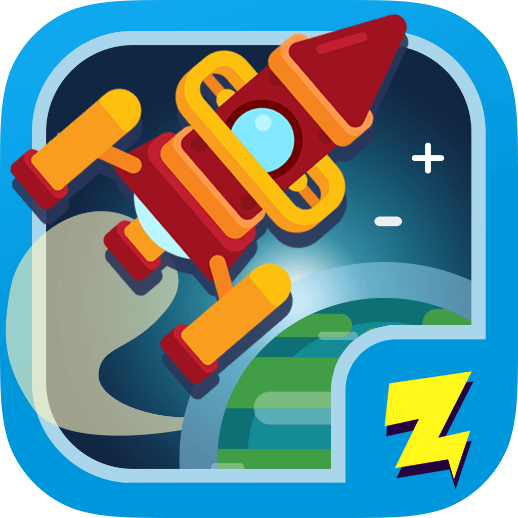 Zap Zap Kindergarten Math Learning App Icon