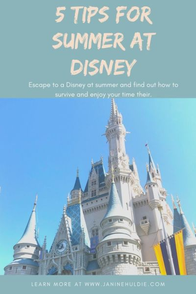 Top 5 Ways To Survive Disney Summers