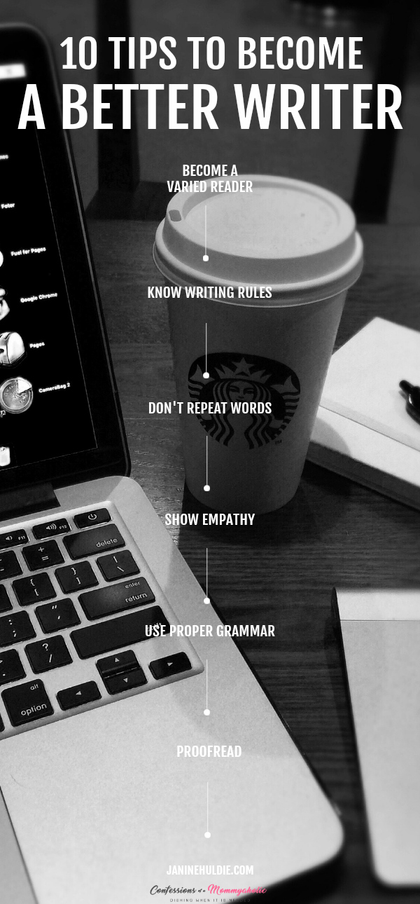 10 Tips to Become A Better Writer