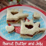 Peanut Butter and Jelly Kissing Hand Sandwiches for the Perfect Back to School Lunch