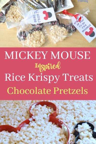 Mickey Mouse Inspired Treats