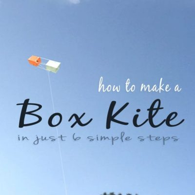 How to Make a Box Kite in 6 Simple Steps #TSSBH