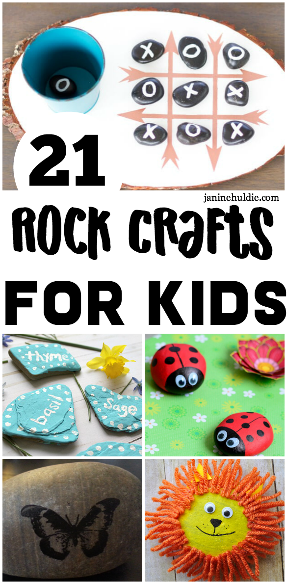 21 Rock Crafts for Kids