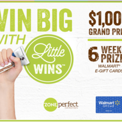 ZonePerfect Little Wins $1 Cash Back Offer