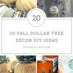 20 Fall Dollar Tree Decor Diy Ideas This Mom S Confessions