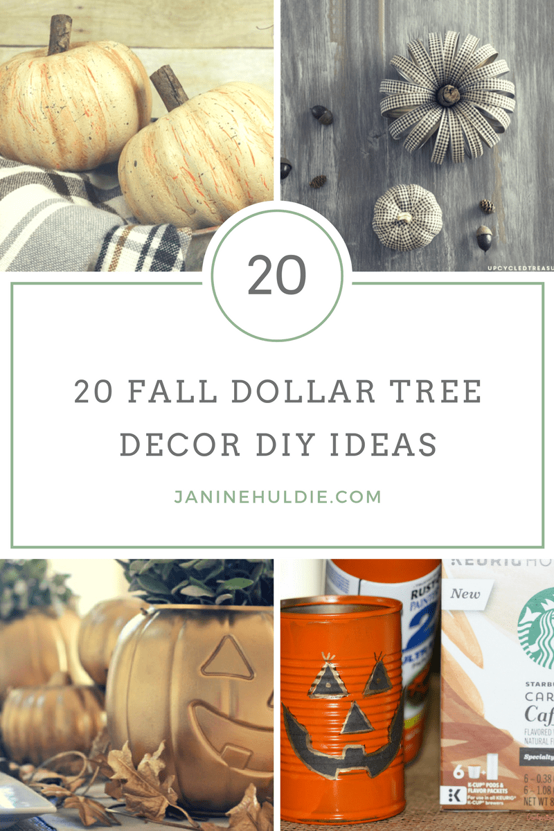 Fall Dollar Tree Decor, This Mom's Confessions