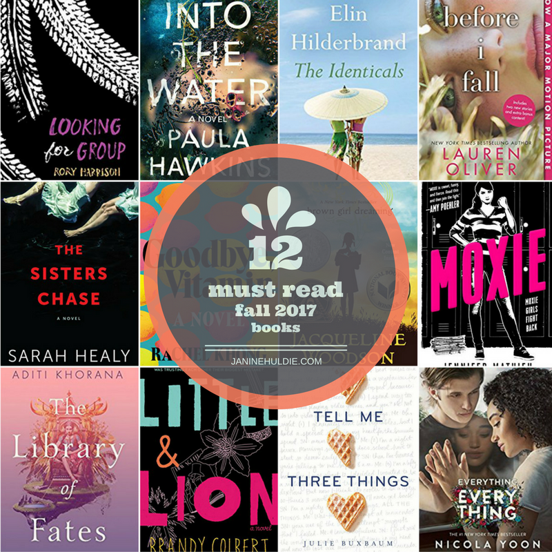 12 must read fall 2017 books