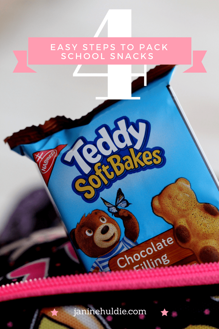 4 Easy Steps to Pack School Snacks