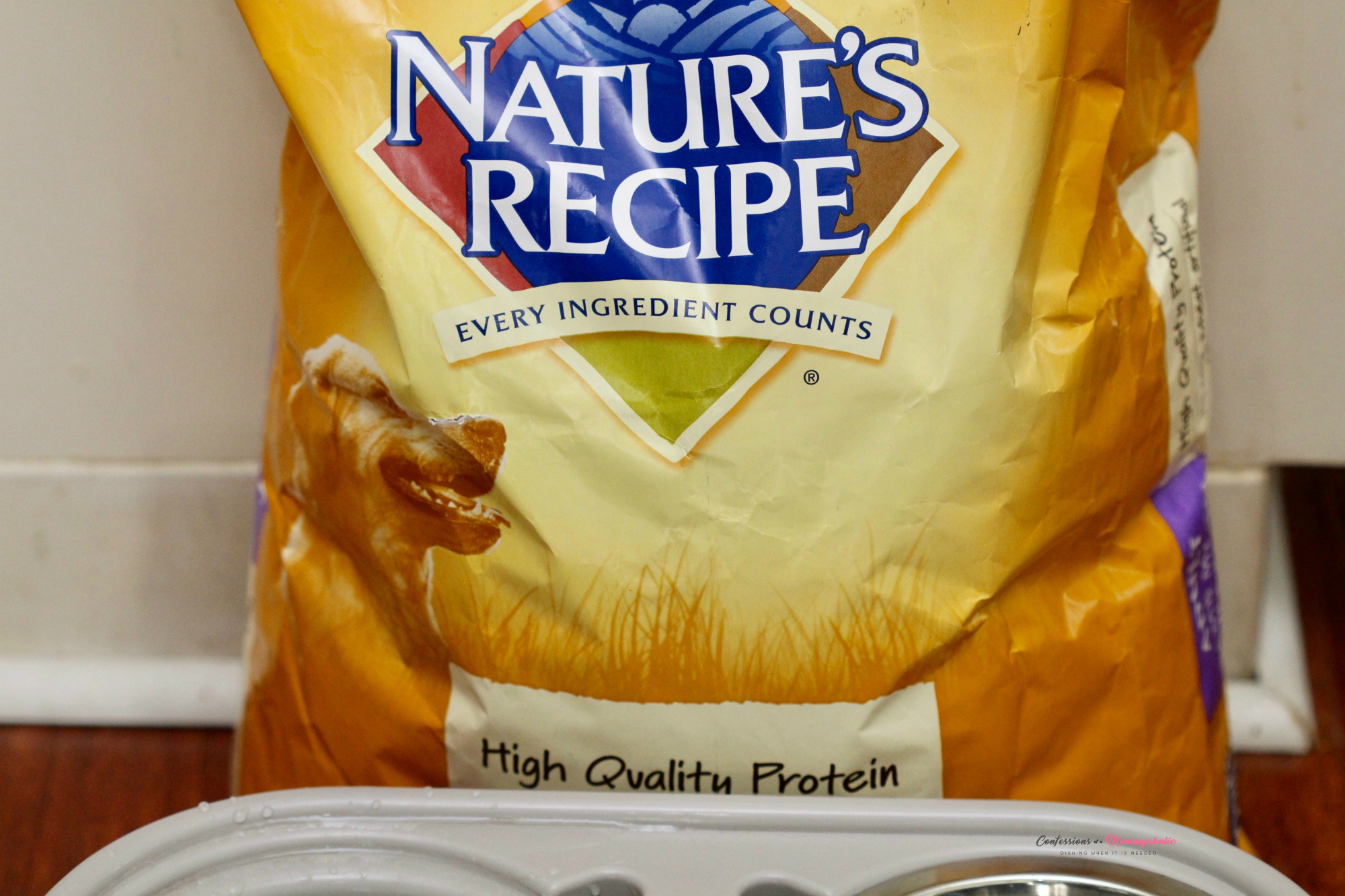 Natures Recipe Dog Food Package