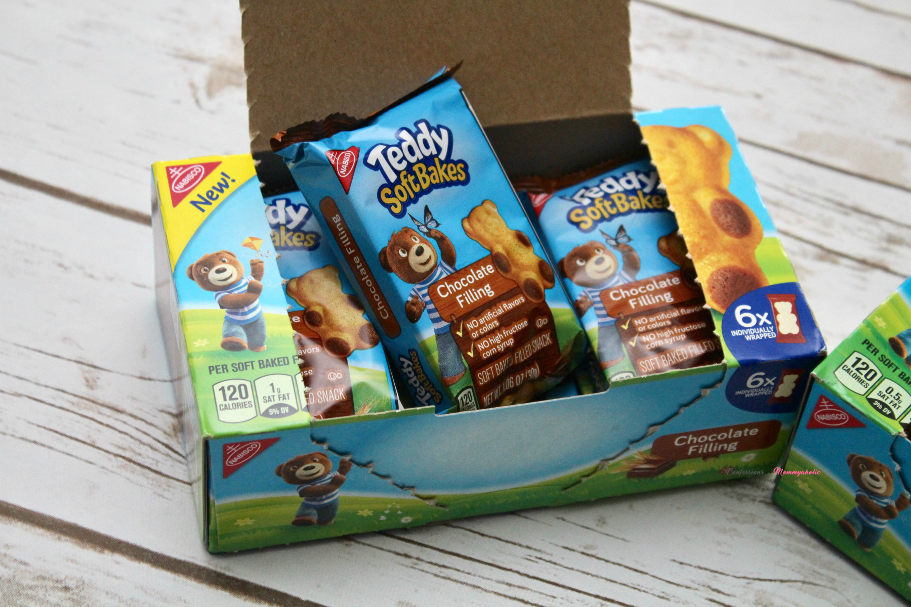 Opened Teddy Soft Bakes Box 2