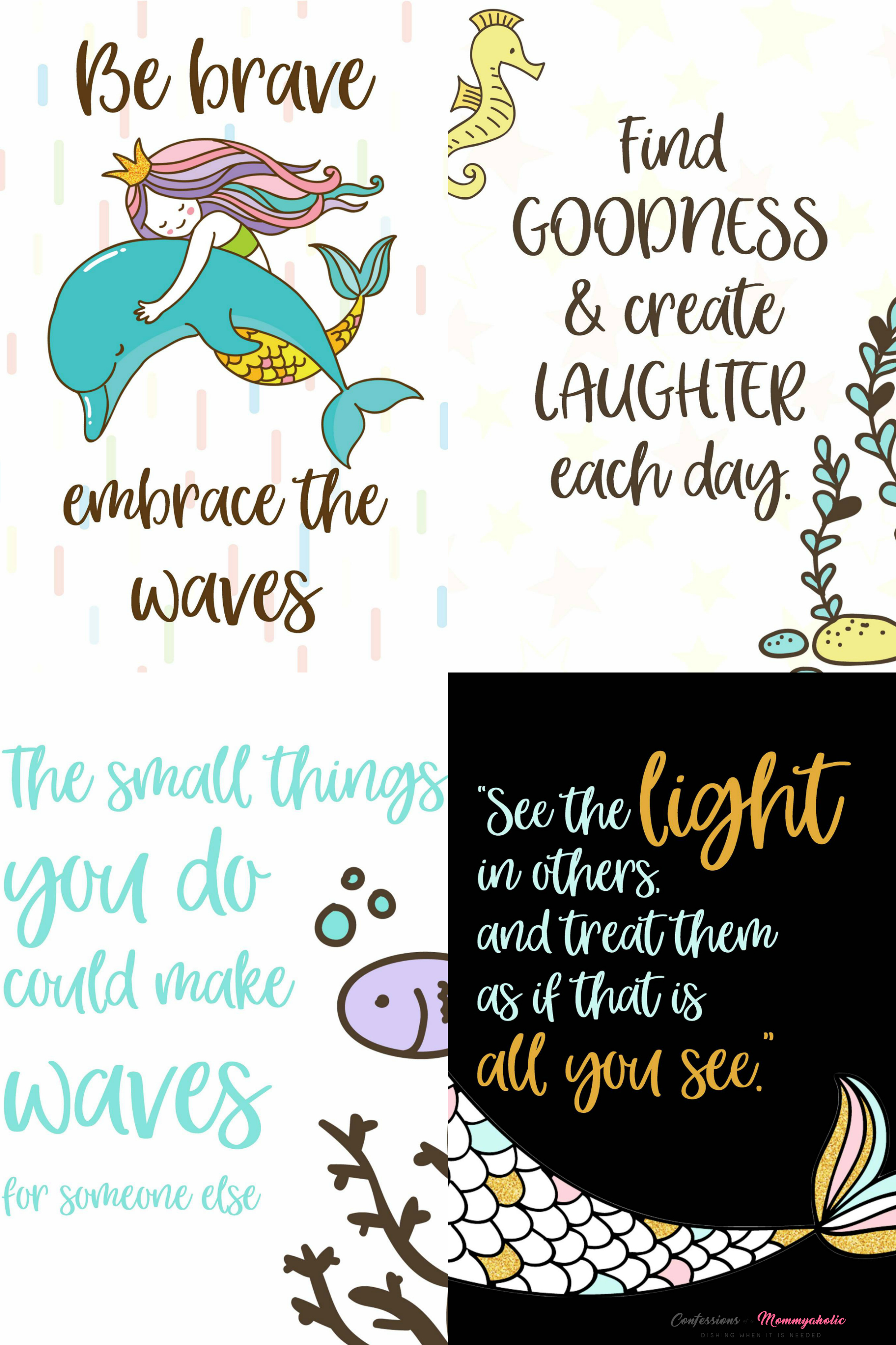 Updated Mermaid School Snacks Notes