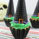 Halloween Witch Hat Cupcakes Recipe Horizontal