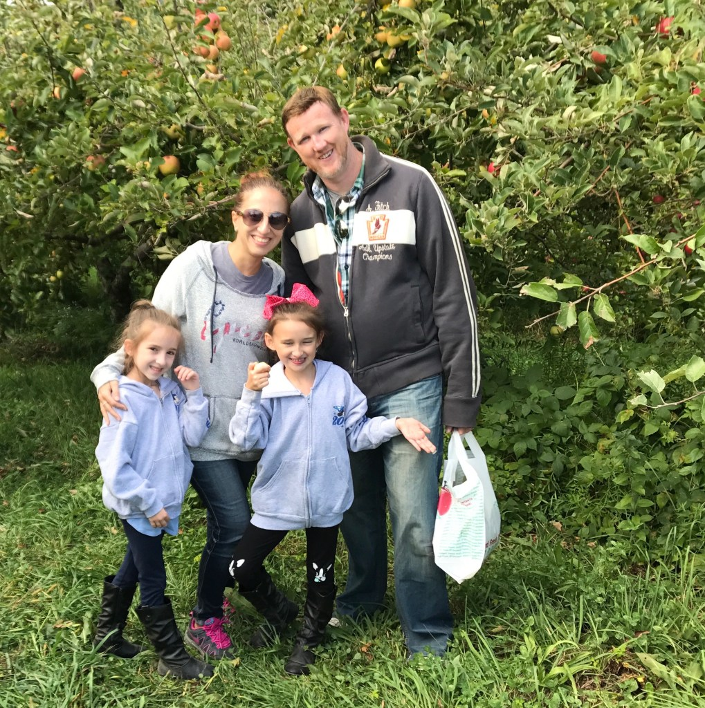 Apple Picking Fall 2017 Family