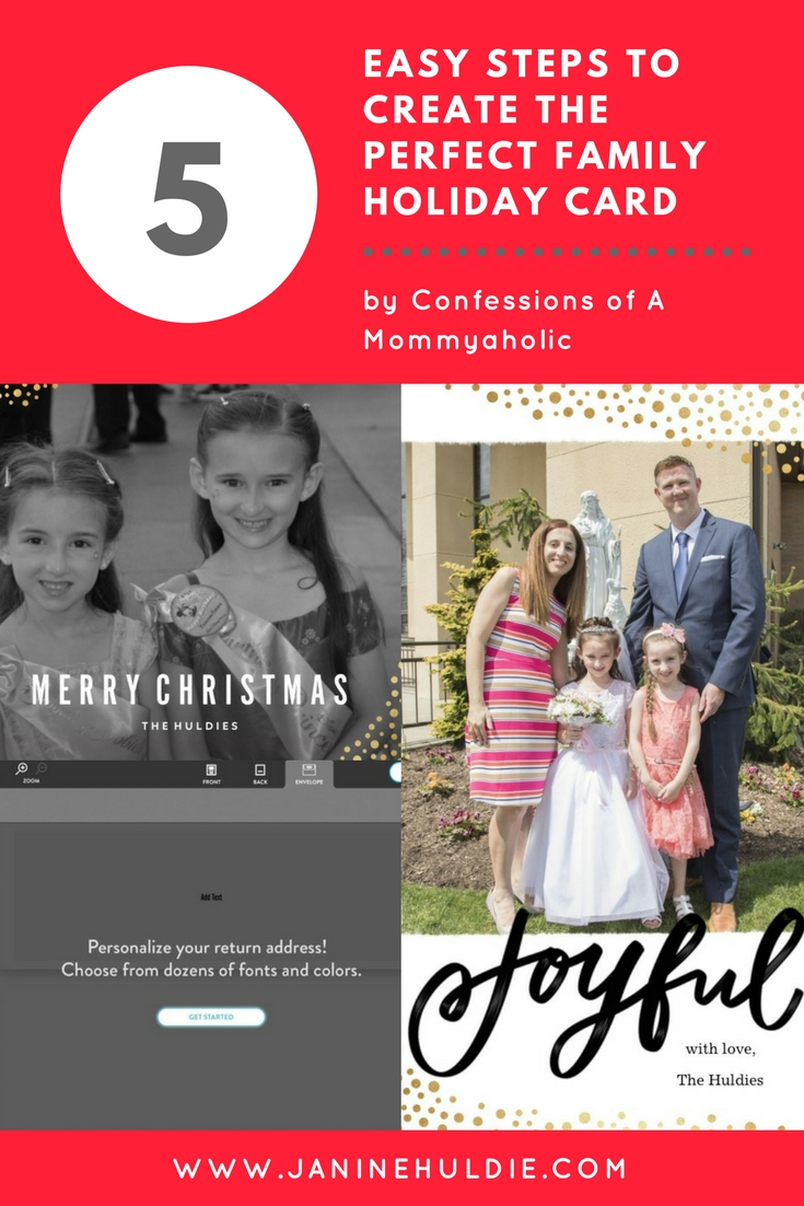 5 Easy Steps to Create the Perfect Family Holiday Card