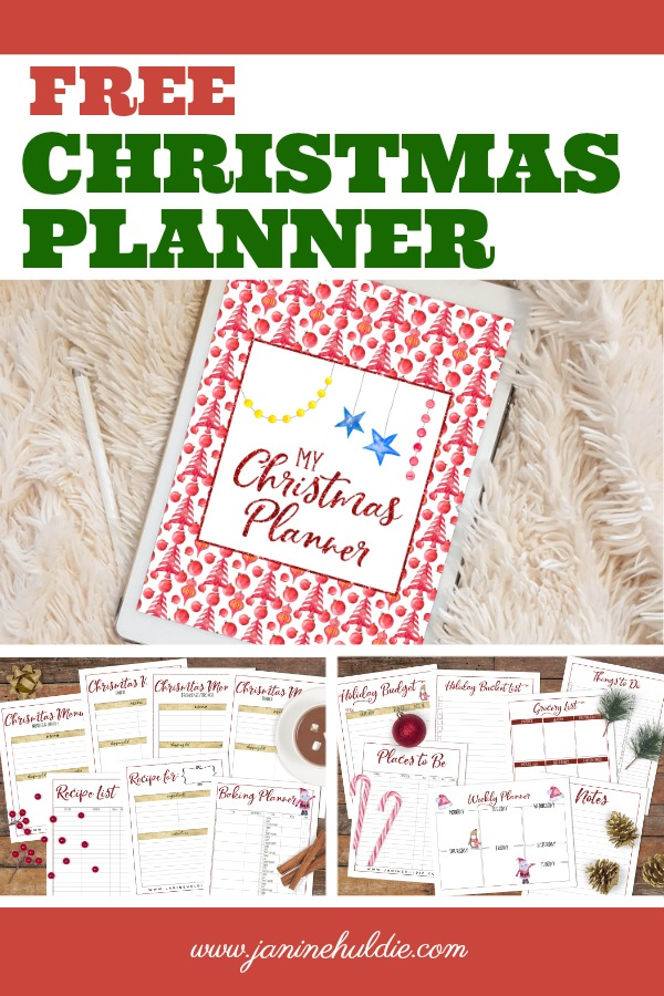 Christmas Planner, This Mom's Confessions