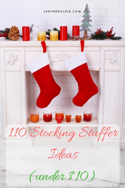 110 Stocking Stuffer Ideas Under 10