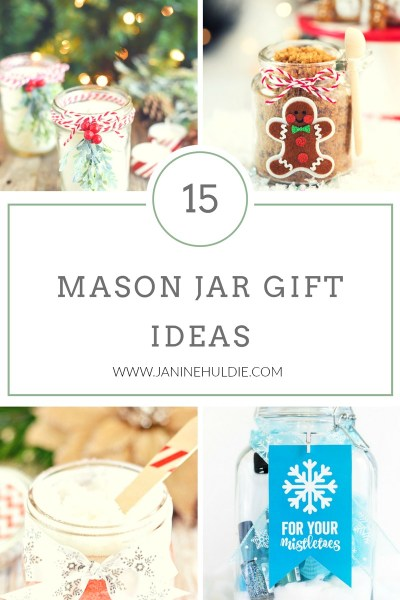15 Mason Jar Gifts Ideas