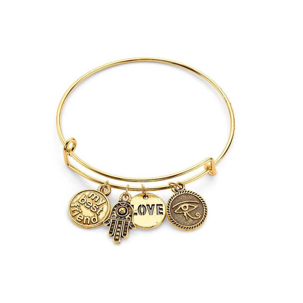 POSITIVE VIBES BRACELET - Kimberly All American Girl