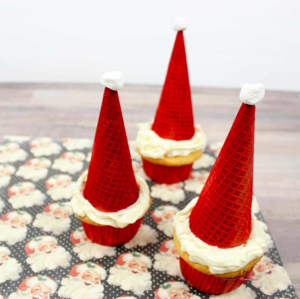 Santa Cupcakes Recipe Square