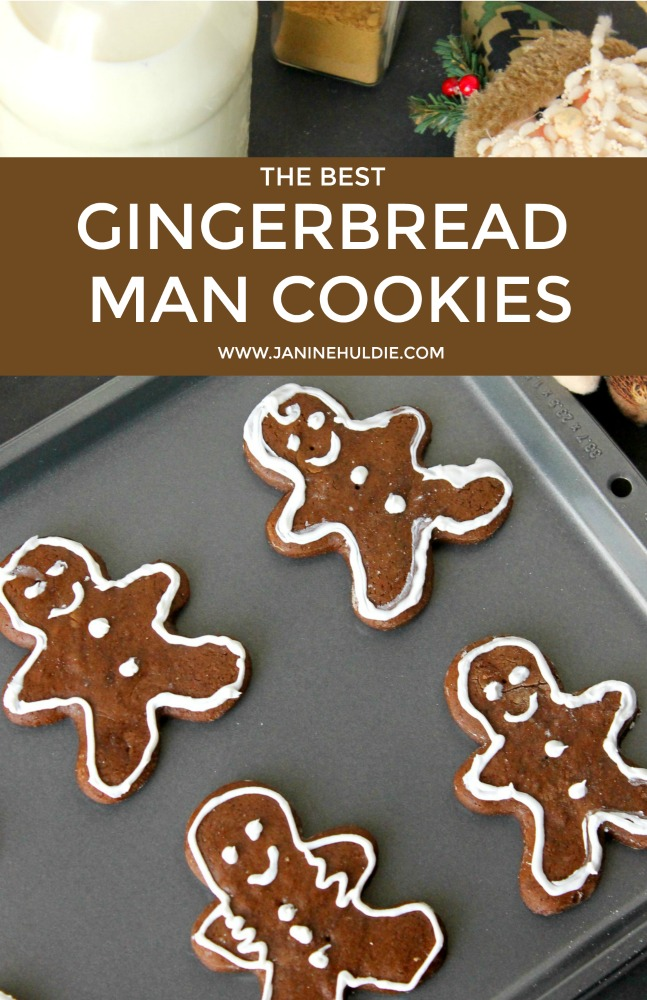 photo relating to Printable Cookies titled The Perfect Gingerbread Guy Cookies Recipe
