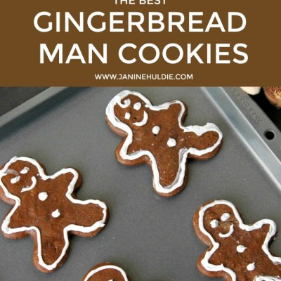 The Best Gingerbread Man Cookies Recipe with FREE Printable