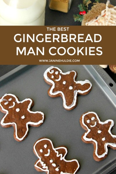 The Best Gingerbread Man Cookies