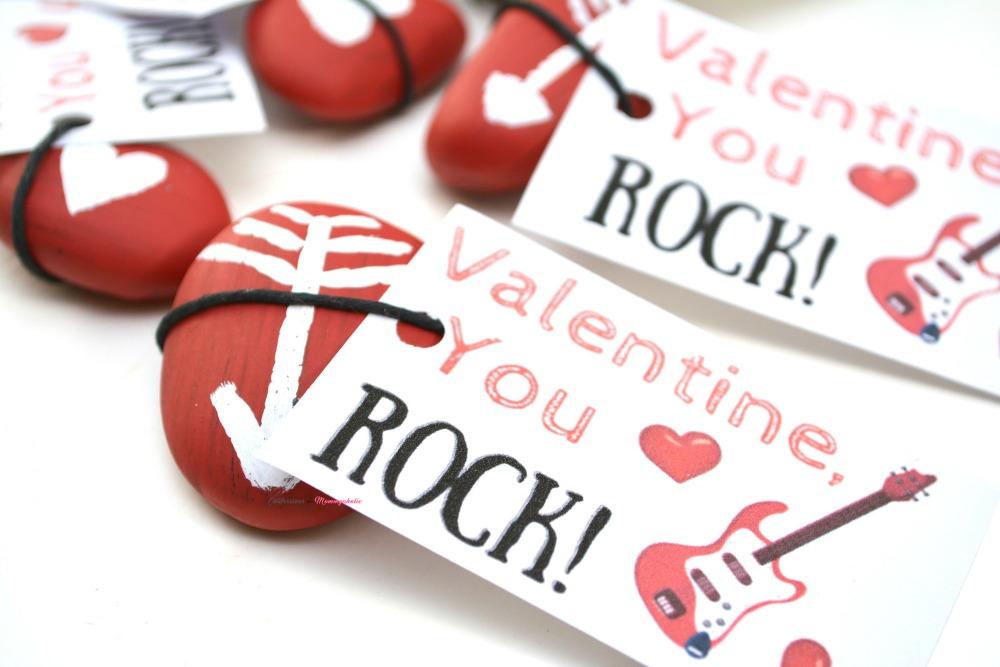 Closeup Of You Rock Valentine