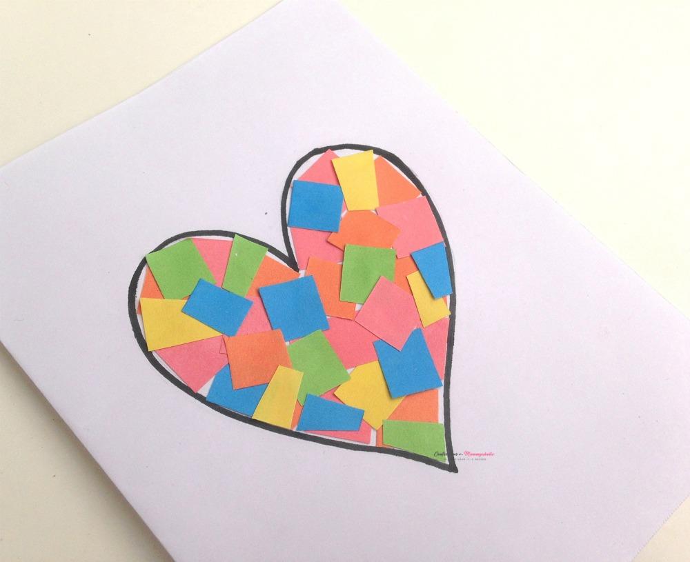 Pieces Heart Card Step (5) WM