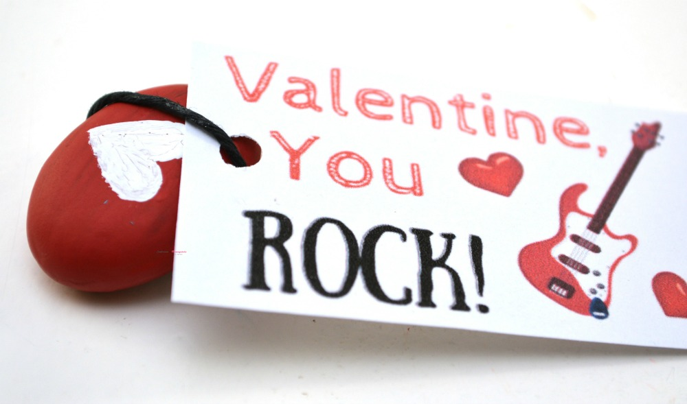 Step 5 for You Rock Valentine