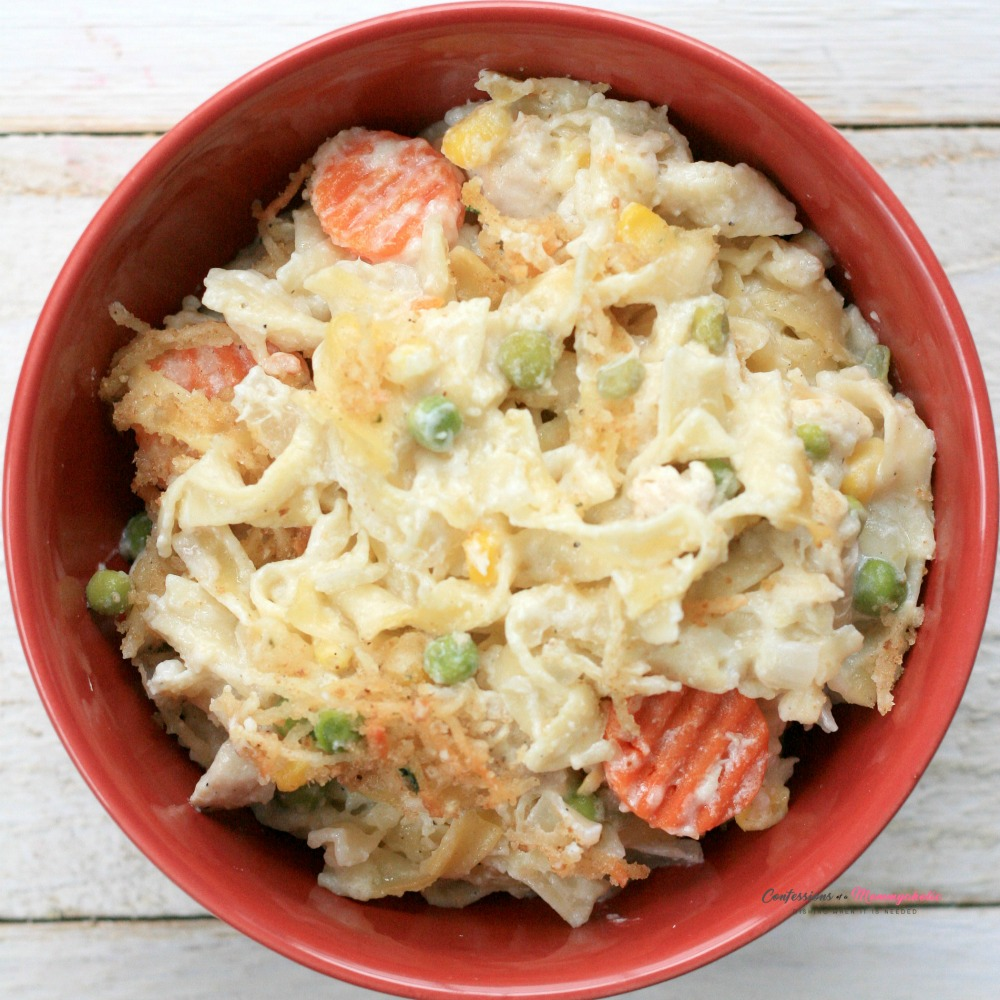 Chicken Noodle Casserole Square 2