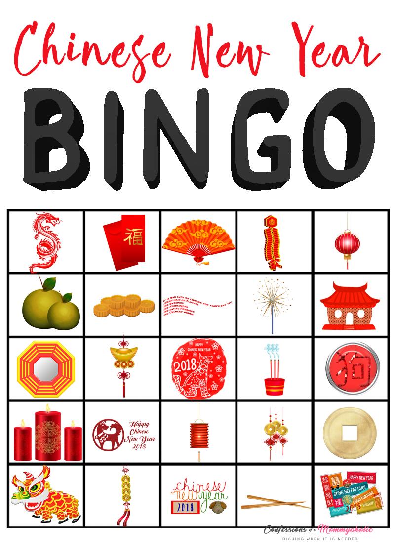 Chinese New Year Bingo WM