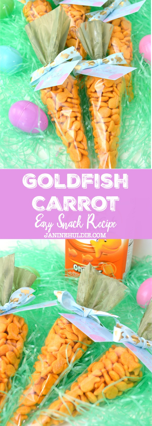 Easy Goldfish Carrot Snack Recipe