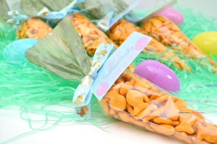 Easy Easter Goldfish Carrot Snack Treats Tutorial