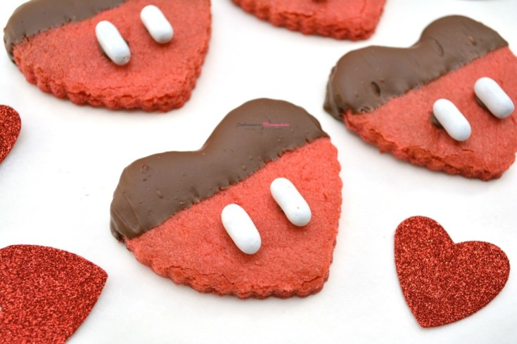 Mickey Mouse Heart Cookie Recipe