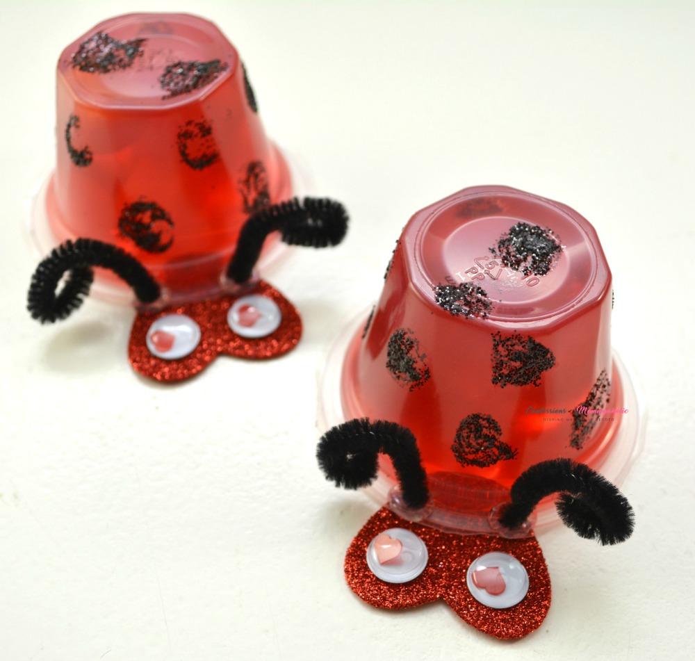 Ladybug Fruit Cups Snack for Kids Square