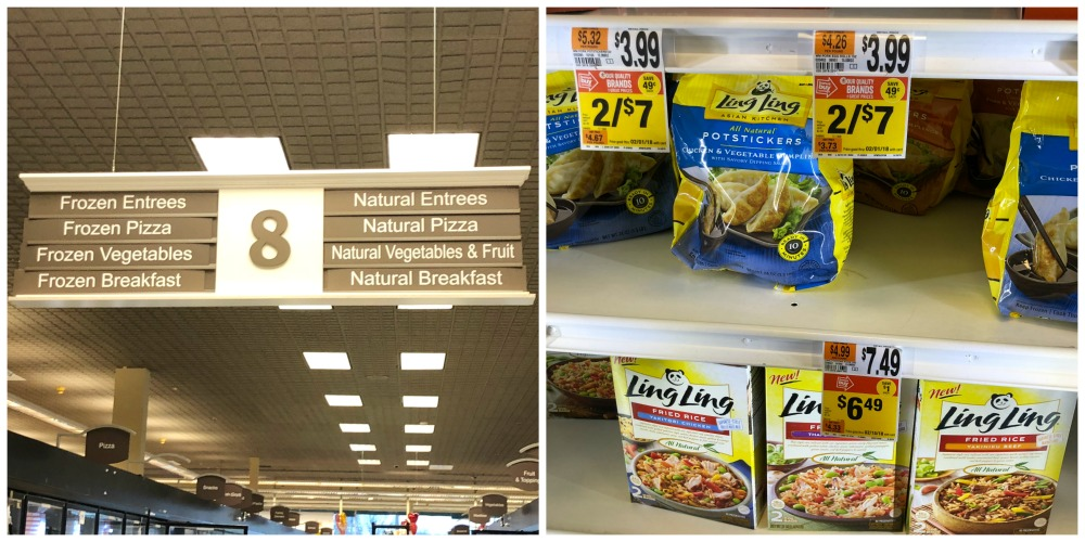 Ling Ling Products Stop and Shop