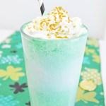 Shamrock Float Drink Recipe Step 4