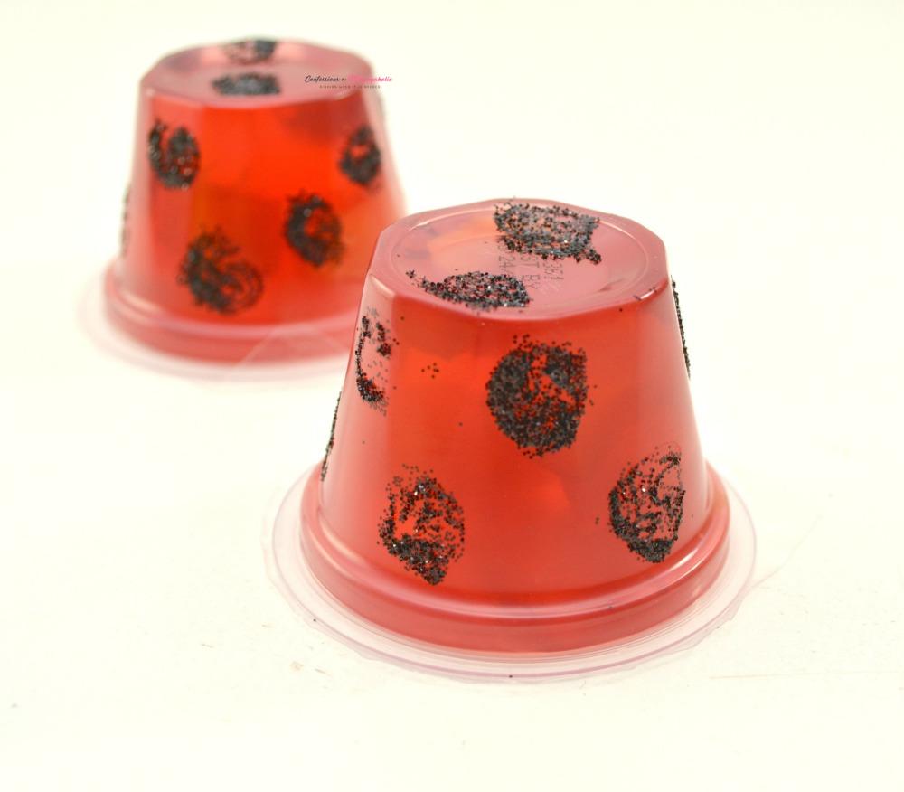 Step 2 for Ladybug Fruit Cups Snack for Kids