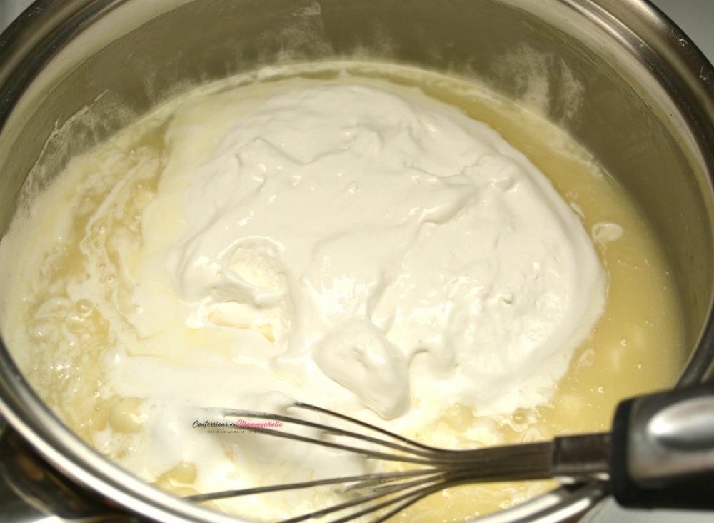 Step 5 for Leprechaun Fudge Dessert Recipe