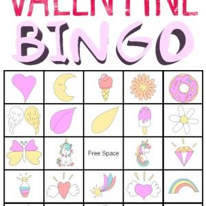 Valentine Bingo Printable