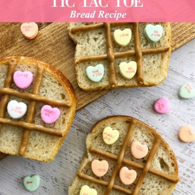 Valentine Tic Tac Toe Bread Recipe