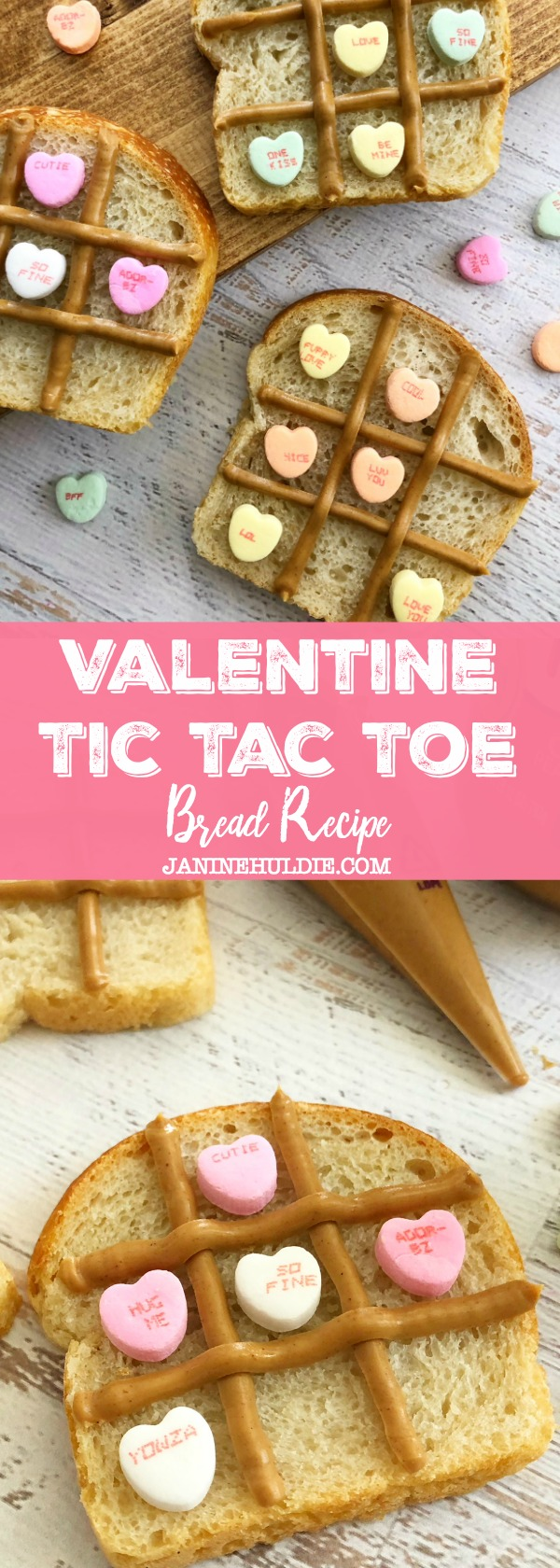 Valentine Tic Tac Toe Bread, This Mom's Confessions